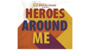 Reflections Heroes Around Me logo